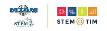 STEM logo from Crain's with MTAM & Partnership